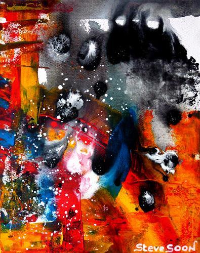 Steve Soon, nonZenz I, Abstraktes, Neue Wilde