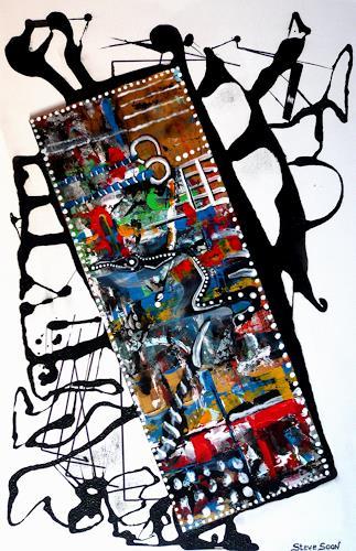 Steve Soon, filmorama, Abstraktes, Neo-Expressionismus