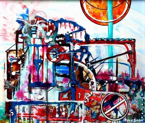 Steve Soon, Technomorphie, Architektur, Neo-Expressionismus