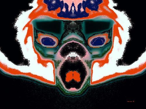 Steve Soon, Maske, Menschen: Gesichter, Gegenwartskunst
