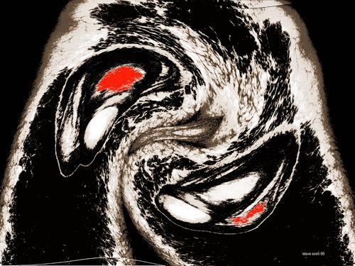 Steve Soon, corpus, Fantasie, Abstrakte Kunst, Abstrakter Expressionismus