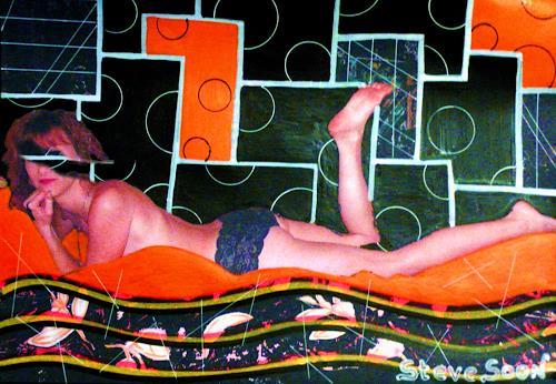 Steve Soon, actrice VII, Akt/Erotik: Akt Frau, Gegenwartskunst
