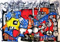 Steve-Soon-Diverse-Menschen-Gegenwartskunst-Neo-Expressionismus