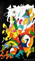 Steve-Soon-Abstraktes-Moderne-Naive-Kunst