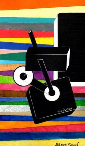 Steve Soon, a.strakt.05, Abstraktes, Abstrakte Kunst