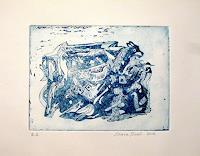 Steve-Soon-Abstraktes-Skurril-Moderne-Expressionismus-Abstrakter-Expressionismus