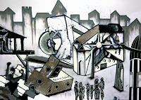 Steve-Soon-Diverse-Bauten-Moderne-Abstrakte-Kunst