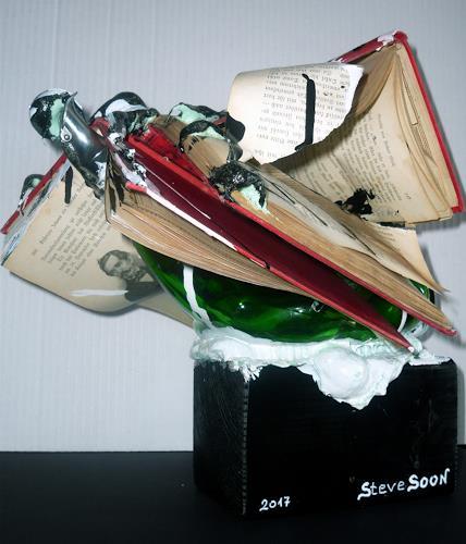 Steve Soon, Buchdruck, Humor, Konzeptkunst, Abstrakter Expressionismus