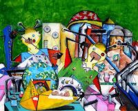Steve-Soon-Fantasie-Moderne-Naive-Kunst