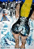 Steve-Soon-Menschen-Modelle-Moderne-Expressionismus-Abstrakter-Expressionismus