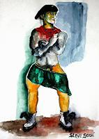 Steve-Soon-Akt-Erotik-Akt-Mann-Moderne-Expressionismus-Neo-Expressionismus