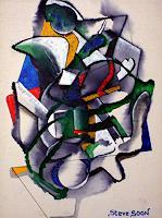 Steve-Soon-Abstraktes-Moderne-Abstrakte-Kunst-Action-Painting