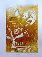 Steve-Soon-Skurril-Moderne-Abstrakte-Kunst-Radikale-Malerei