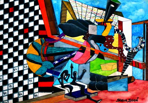 Steve Soon, Perikal VII, Dekoratives, Konstruktivismus
