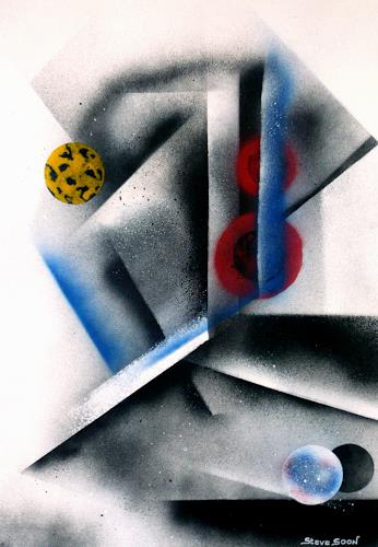 Steve Soon, deKooo, Dekoratives, Konstruktivismus, Abstrakter Expressionismus