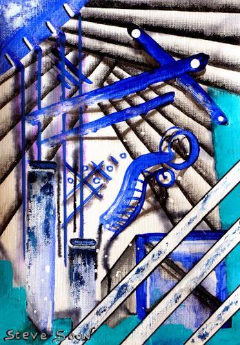 Steve Soon, Fidaroules, Fantasie, Neo-Expressionismus