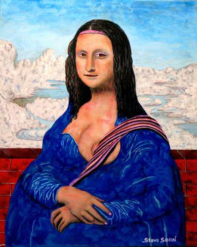 Steve Soon, daVin-Soon, Akt/Erotik: Akt Frau, Moderne