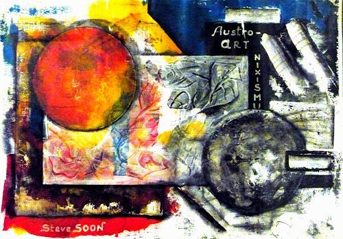 Steve Soon, Orthogone, Abstraktes, Dekoratives, Konstruktivismus, Abstrakter Expressionismus