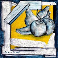Steve-Soon-Stilleben-Pflanzen-Fruechte-Neuzeit-Neuzeit