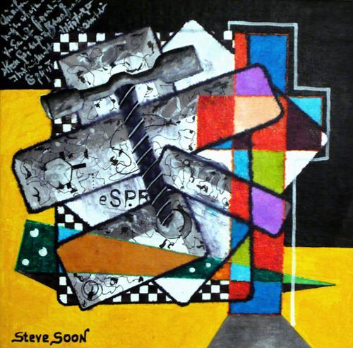 Steve Soon, cross, Dekoratives, Konstruktivismus
