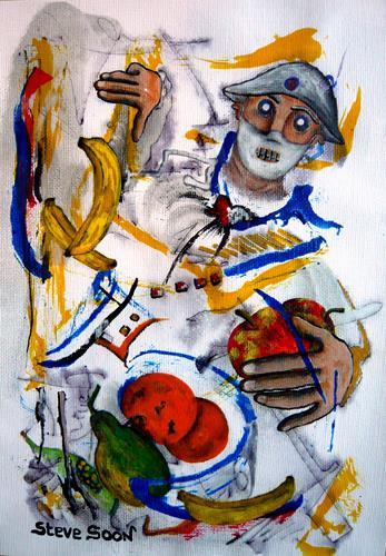 Steve Soon, Hauptsache gesund, Menschen: Mann, Neo-Expressionismus