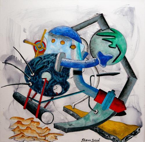 Steve Soon, Radze Byonal III, Skurril, Neo-Expressionismus