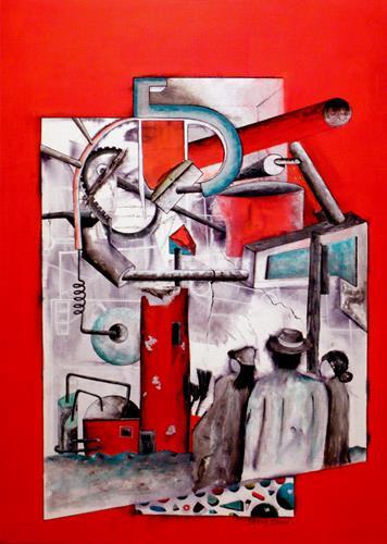 Steve Soon, Faszination Technik, Technik, Menschen: Gruppe, Neo-Expressionismus, Abstrakter Expressionismus
