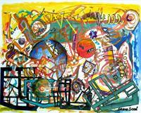 Steve-Soon-Abstraktes-Diverses-Moderne-Abstrakte-Kunst-Radikale-Malerei