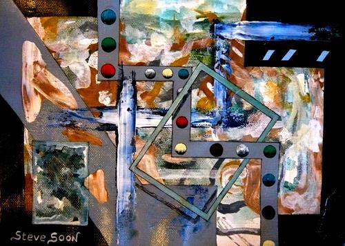 Steve Soon, cro-Balique, Abstraktes, Radikale Malerei