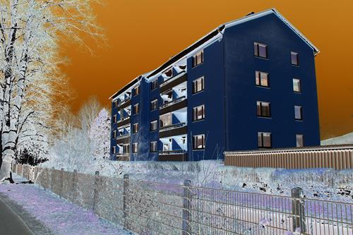 Steve Soon, o.T., Bauten: Haus, Land-Art