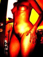 Steve-Soon-Menschen-Frau-Akt-Erotik-Akt-Frau-Moderne-Pop-Art