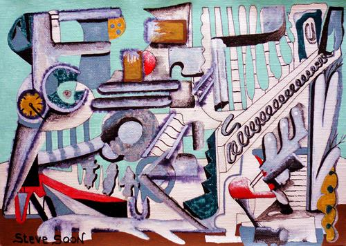 Steve Soon, summa summarum, Abstraktes, Neo-Expressionismus