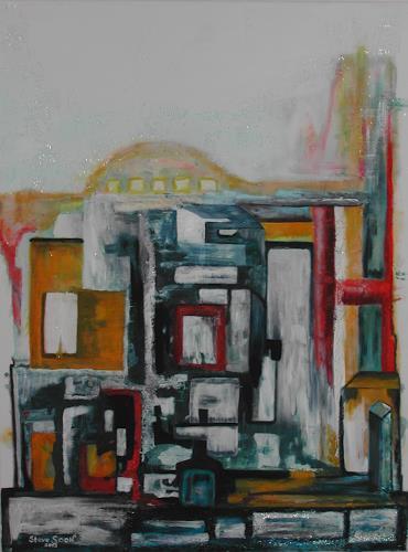 Steve Soon, megaron, Abstraktes, Neo-Expressionismus