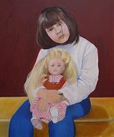 Ulrich-Hollmann-Menschen-Familie-Menschen-Kinder-Moderne-Andere-Neue-Figurative-Malerei