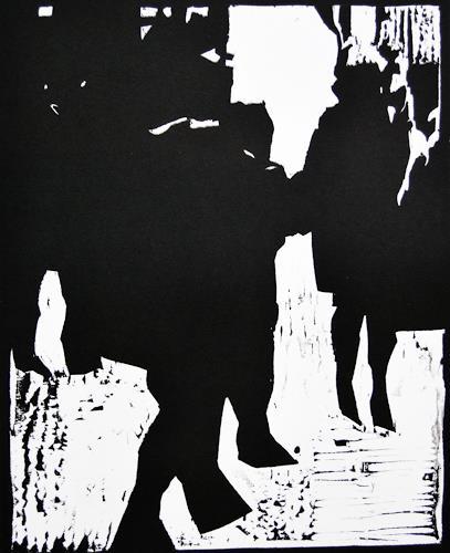 Ulrich Hollmann, ohne Titel, Menschen, Menschen: Gruppe, Neo-Expressionismus