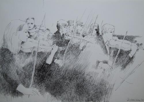 Ulrich Hollmann, Streicher, Menschen: Gruppe, Musik: Konzert, Gegenwartskunst