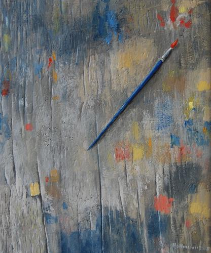 Ulrich Hollmann, La peinture, Stilleben, Skurril, Gegenwartskunst, Expressionismus
