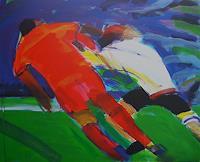 Ulrich-Hollmann-Sport-Gegenwartskunst--Neo-Expressionismus