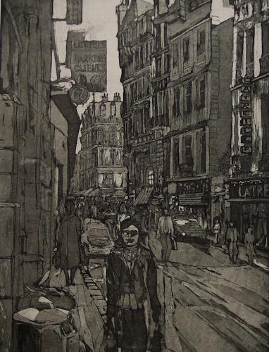 Ulrich Hollmann, Latreille, Architektur, Markt, Neo-Expressionismus, Abstrakter Expressionismus