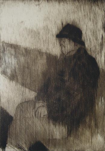 Ulrich Hollmann, Barankai, Menschen: Mann, Menschen: Porträt, Neo-Expressionismus