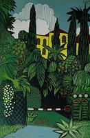Ulrich-Hollmann-Diverse-Pflanzen-Landschaft-Sommer-Gegenwartskunst--Neo-Expressionismus
