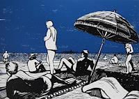 Ulrich-Hollmann-Freizeit-Landschaft-See-Meer-Moderne-Abstrakte-Kunst