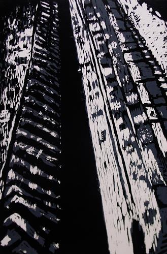 Ulrich Hollmann, Spuren, Bewegung, Natur: Erde, Neo-Expressionismus