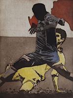 Ulrich-Hollmann-Sport-Bewegung-Gegenwartskunst--Neo-Expressionismus