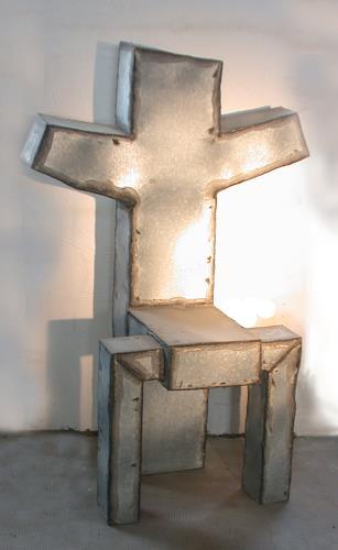 Metall & Gestaltung, Heiliger Stuhl, Mythologie, Symbol, Kunst am Bau