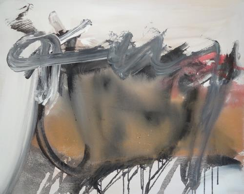 Michael Maderthaner, Stierkampf, Abstraktes, Abstraktes, Gegenwartskunst, Abstrakter Expressionismus