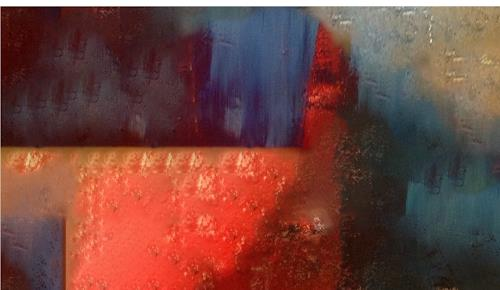 Michael Maderthaner, Rote Erde, Abstraktes, Skurril, Gegenwartskunst