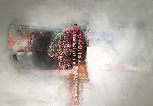 Michael Maderthaner, Illusionen Freiraum, Abstraktes, Abstraktes, Gegenwartskunst, Expressionismus