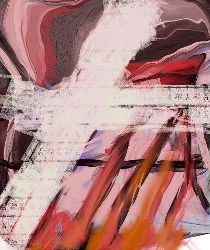 Michael Maderthaner, modern time I, Abstraktes, Abstraktes, Art Déco