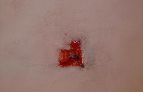 Michael Maderthaner, red and white, Abstraktes, Gegenwartskunst